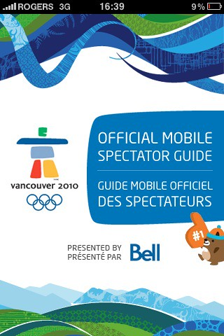 Vancouver 2010 iPhone App