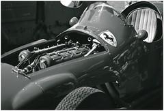 Vintage Ferrari (hz536n/George Thomas) Tags: film 35mm canon vintage ae1 tritone ferrari scan kodachrome february canonae1 2010 smrgsbord konicaminolta pantone cs3 dimagescandualiv blackwhitephotos hz536n