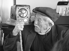 Old.. (stefg74) Tags: old man radio free coffeeshop freeuse justrss justrsscom wwwjustrsscom httpwwwjustrsscom stefg74