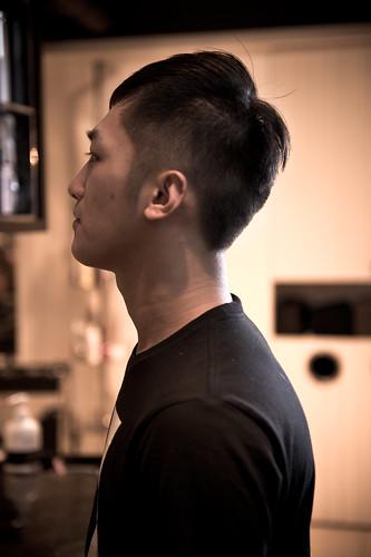 【 男生髮型 】 短的有較型