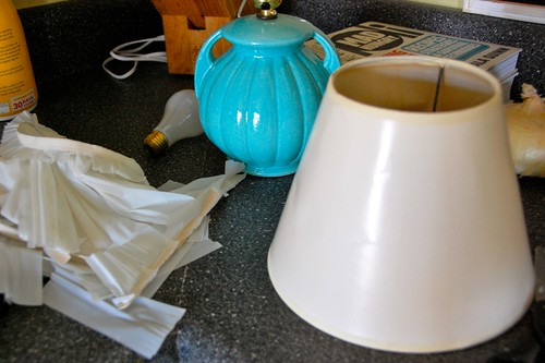 how to rewire a thrifted lamp