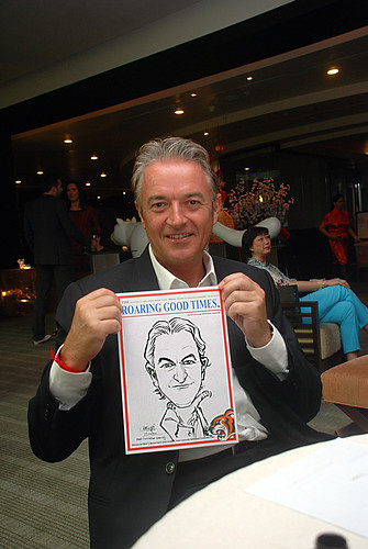 Caricature live sketching for Informa Group -2