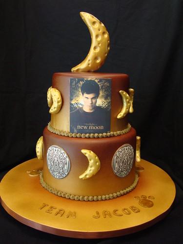 Team Jacob New Moon cake