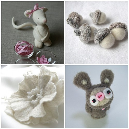 Felted cute