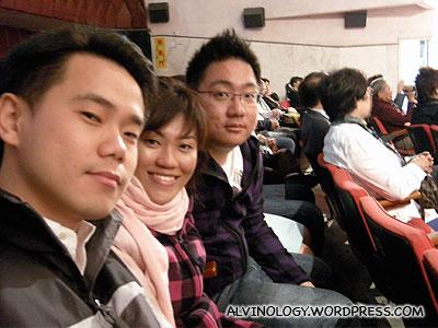 Nicholas, Rachel and me