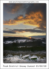 Last image of the day (Paul Simpson Photography) Tags: uk winter sunset england sunlight snow cold clouds evening snowy derbyshire narnia february hillside 2010 thepeakdistrict photosof picturesof imagesof february2010 paulsimpsonphotography