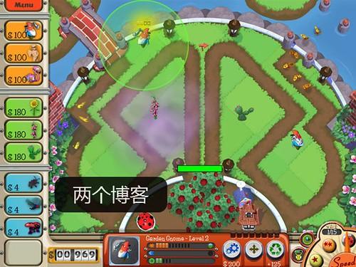 有趣的塔防游戏:《花园防御》英文硬盘版下载(又名花园保卫战) | 爱软客