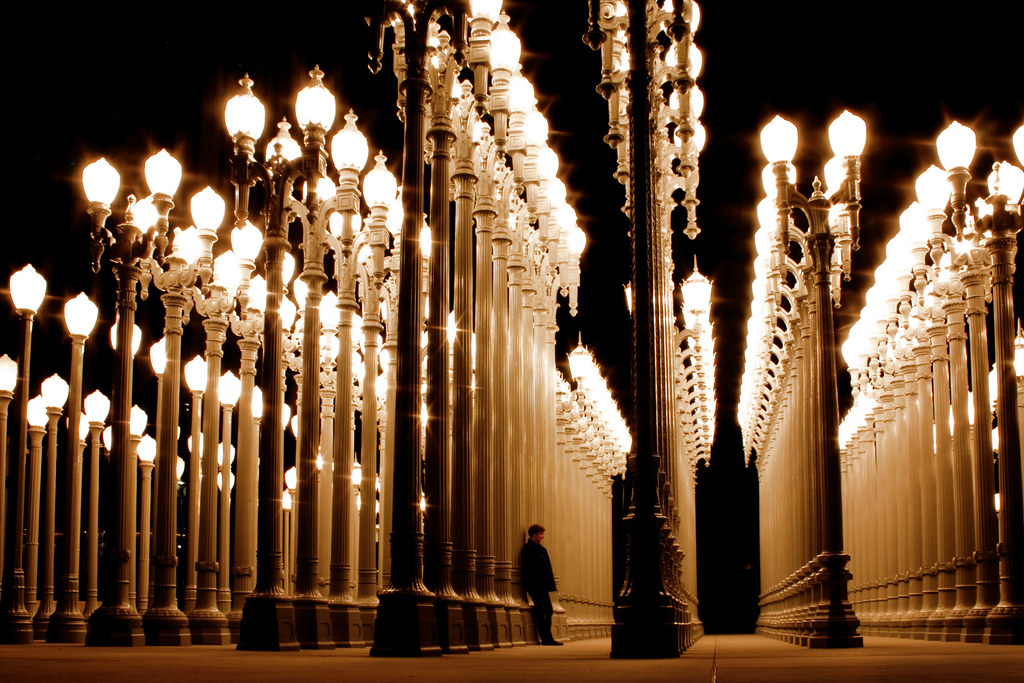 ... Lampposts Lacountymuseumofart Chrisburden Johnslens · In The Twilight  Zone (Andy Kennelly) Tags: From Street New Chris Light Urban
