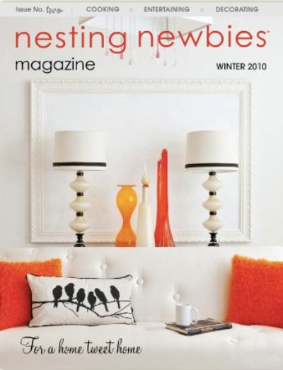 nesting newbies winter 2010 cover
