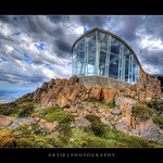 The Lookout Building at Mount Wellington, Hobart, Tasmania :: HDR