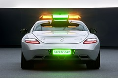 The SLS AMG F1 Safety Car - back (SLS AMG) Tags: racetrack speed f1 formulaone mercedesbenz mb sls amg gullwing safetycar berndmaylnder