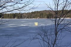 Sinking Bob House (10) (Andre Reno Sanborn) Tags: icefishing websterlake franklinnh bobhouses
