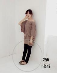 250(( PINK-YA )) * C610202-1 * 絕對質感‧UNI美腿方程式洗直紋感丹寧褲black