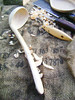 hand carved ladle (fishfish_01) Tags: wood art kitchen hand folk spoon carving carve ladle crafted