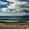 Winter Beach - Before the Storm (Osvaldo_Zoom) Tags: winter sea italy seascape storm beach clouds canon boat seaside desert calabria g7 messinastrait winterbeachproject