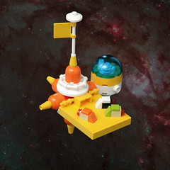 Faraway Station (pasukaru76) Tags: station lego space spacestation m83 outpost moc sigma105mm microscale suntron