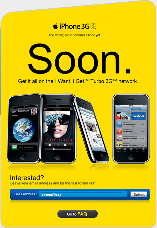 Finally Digi iPhone 3Gs with Turbo 3G will be coming soon!