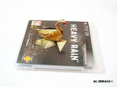 Swan (Al3bbasi.) Tags: swan origami heavyrain al3bbasi