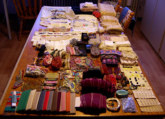 Treasures! (Made by BeaG) Tags: treasures vintagefinds vintagetreasures vintageneedlework vintagesewingnotions antiqueneedlework vintagehandwerkspulletjes antiekehandwerkspulletjes oudefournituren