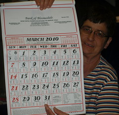 Mom and Bank of Bloomsdale Callendar