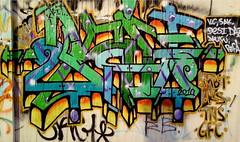 Kit (graffiti oakland) Tags: yards art graffiti oakland bay ks deep east crew production kit burner mbt gf wildstyle gfc tns kulture kitone