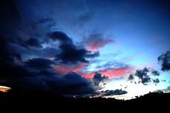 Euboia Sunset III (Soupmeister) Tags: sunset sky clouds landscape greece evia  euboia