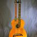 1910 Oscar Schmidt Harp Guitar - Front