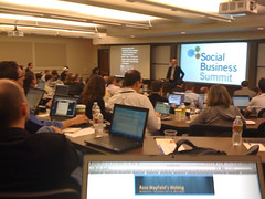 Lee Bryant ad Social Business Summit