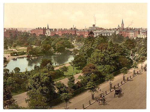[St. Stephen's Green Park, Dublin. County Dublin, Ireland] (LOC)