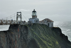 Point Bonita Lighthouse, Marin Headlands, GGNRA (birdgal5) Tags: california lighthouse nikon 1755mmf28g marincounty d200 marinheadlands ggnra pointbonitalighthouse