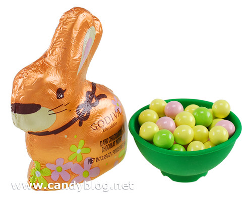 Godiva Dark Chocolate Rabbit & Chocolate Pearls