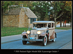 1931 Packard Model 826 5-passenger Sedan (sjb4photos) Tags: car automobile packard autoglamma oldcarfestival 1930packard