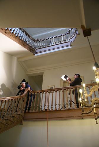 Calder shoot stairwell