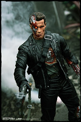 "12"" Terminator T-800 (Final Battle) (EdwardLee's collection) Tags: 2 movie toy toys actionfigure day action arnold schwarzenegger collection figure 16 12 terminator judgment t2 neca t800 endoskeleton edwardlees"