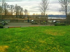 Along the Columbia River at Water Resource Education Center