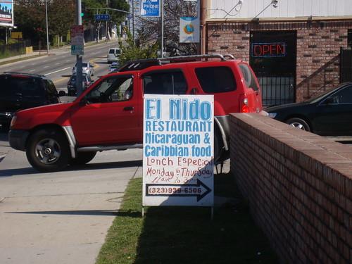 El Nido Sandwich Board