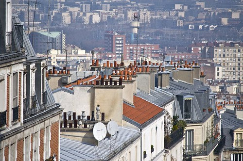 Montmartre in March