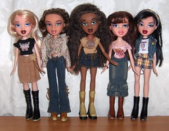 Bratz Style It (Bratz UK) Tags: dana style it jade sasha yasmin chic bratz cloe hippir