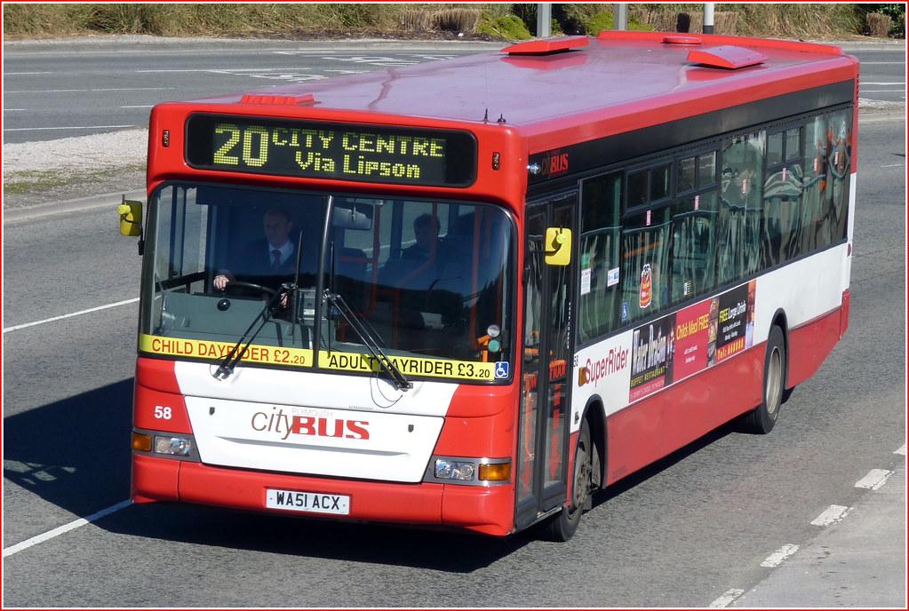 Plymouth Citybus 058 WA51ACX