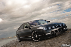 Citroen C6 Pallas Concept Car Front Quarter Close Up Angled Shot (NWVT.co.uk) Tags: uk black art up car by one for nikon shoot day photographer close shot citroen automotive hampshire off front professional quarter shows concept piece built angled c6 freelance pallas calshot d90 a of nwvtcouk nwvt