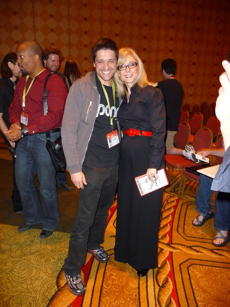 Me and Nina Hartley