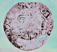 Elizabethan silver four pence.