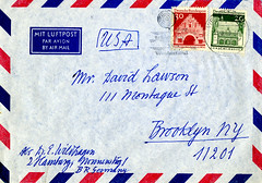 Envelope from Chess Correspondence Collection