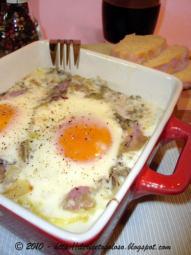 Uova al vino rosso in cocotte (1)