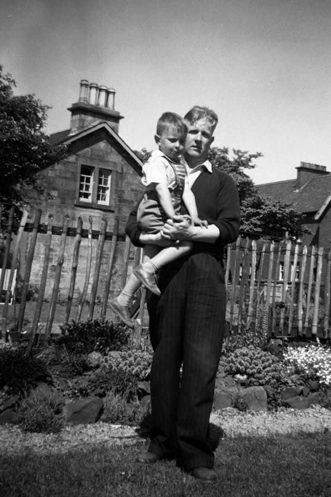 Bill Ross & Ian 1958