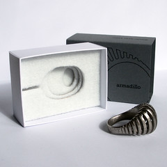 Armadillo ring box