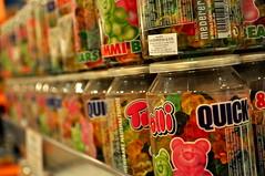 Jelly Bear Jars. (Zoe.Sadgrove) Tags: bear color shop colorful candy bears jelly candyjar candyshop jellybears colorfulbear candybear