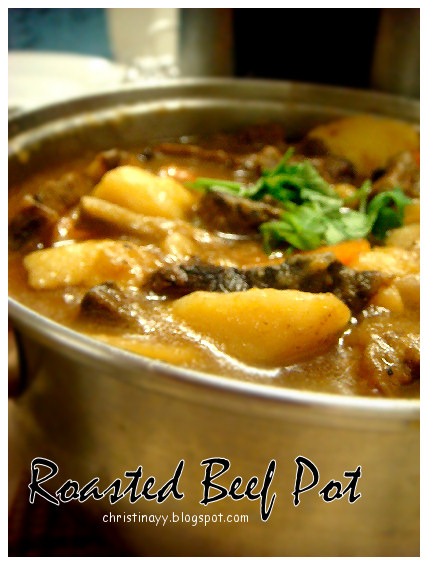 Asian Cooking: Roasted Beef Pot