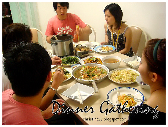 Asian Cooking: Dinner Gathering