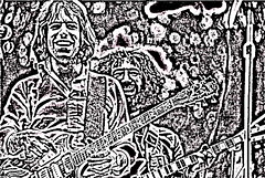 Bob&Jerry (manipulated) (MzDIS) Tags: sanfrancisco california goldengatepark camera blackandwhite bw music abstract art musicians manipulated altered wow photo slick fdsflickrtoys outsiderart shadows view artistic pentax outsider song unique creative dream halo gratefuldead attitude 1975 myart myphoto zap offbeat jerrygarcia artoutloud edges alteredphoto thedead zib bobweir zibble picturesworthathousandwords pentxspotmatic zibbled zibbed zibbest